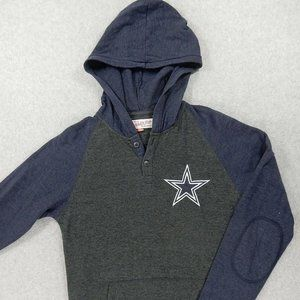 Dallas Cowboys Logo Hoodie Pullover (Womens Small)